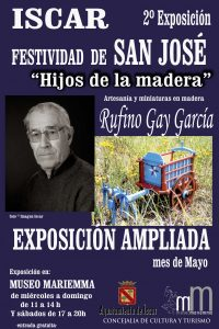 CARTEL JOSE rufino gay expo ampliada