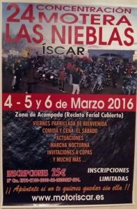 Cartel concentracion Iscar 2016