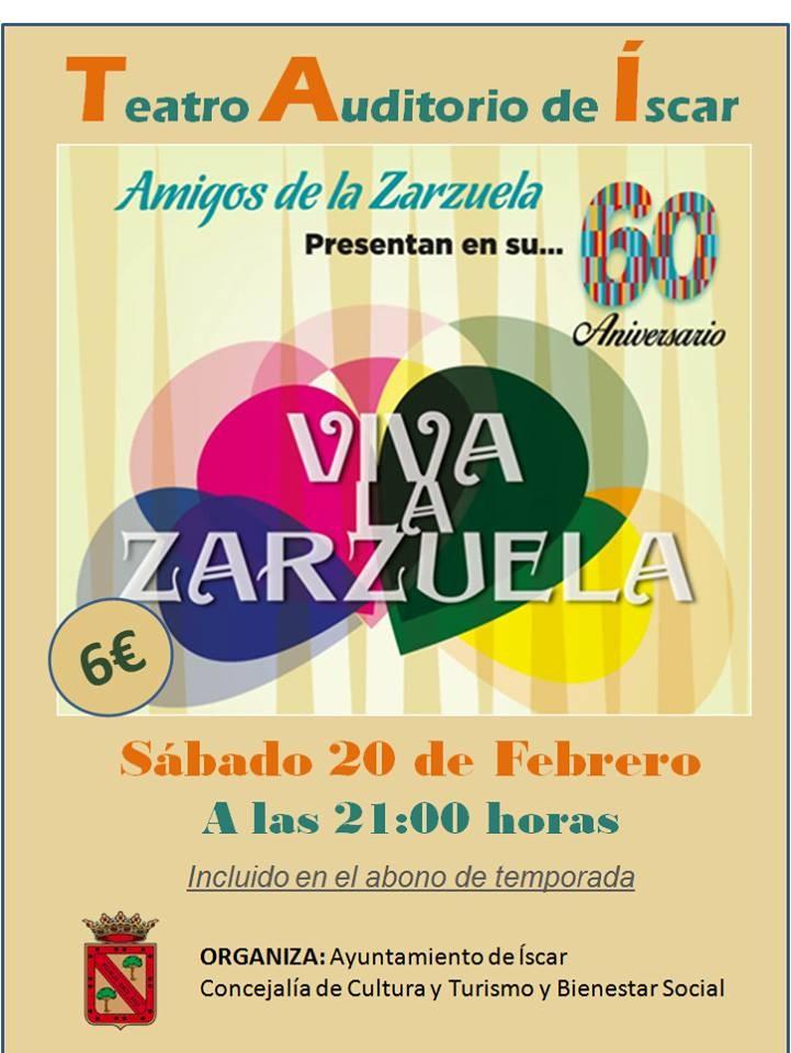 La Zarzuela iscar 20 febrero 2016